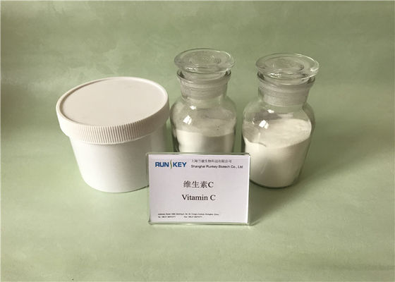 Key Role Organic Vit C Powder , Improving Mood White Pure Vitamin C Crystals